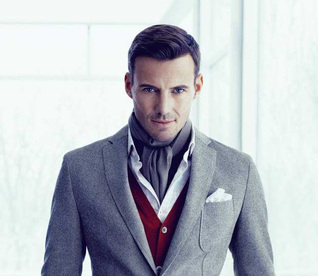 Модель Hugo BOSS Fall-Winter 2013-2014 Campaign