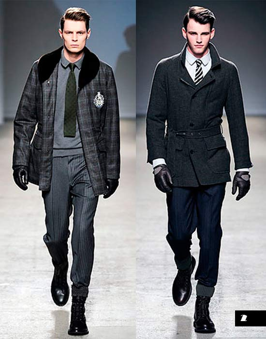 Classic Look Dunhill fall-2010