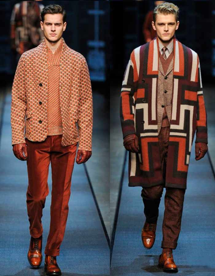 Winter Mens Wardrobe Canali fall-winter 2013-2014