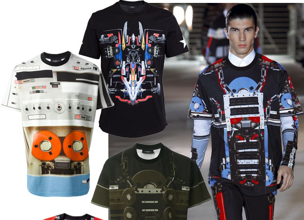 Mens t-shirts Givenchy spring-summer 2014