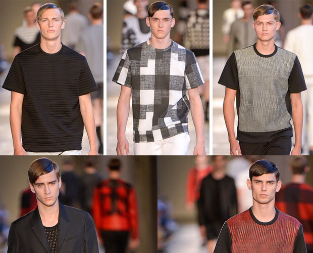 Mens t-shirts Neil Barrett spring-summer 2014