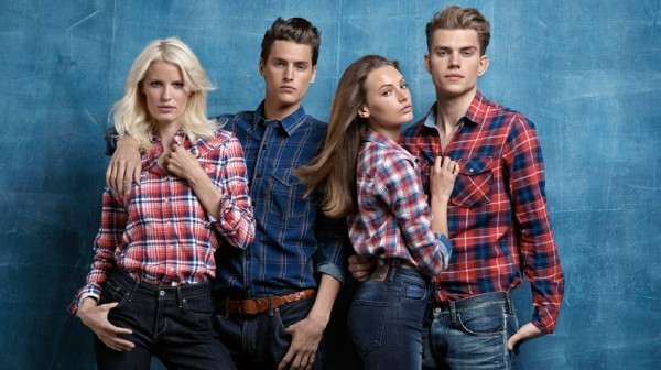 Andre Bentzer для JC Jeans & Clothing Fall 2011 Campaign