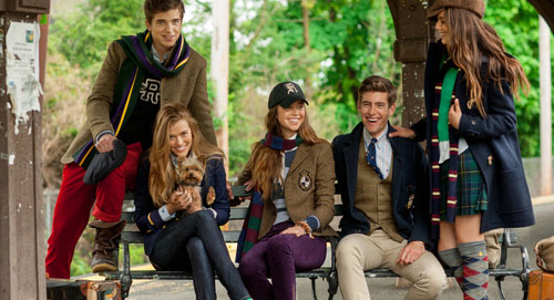 Ralph Lauren Rugby fall winter 2012 2013 campaign Look 1